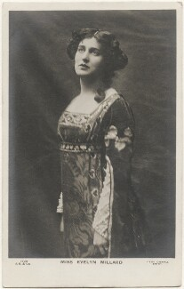 Evelyn Millard in 'Paolo and Francesca', by Lizzie Caswall Smith, published by  J. Beagles & Co - NPG x200501