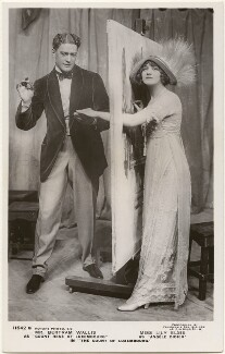 Bertam Wallis as 'Count René of Luxembourg' and Lily Elsie as 'Angéle Didier' in 'The Count of Luxembourg', by Foulsham & Banfield, published by  Rotary Photographic Co Ltd - NPG x201081