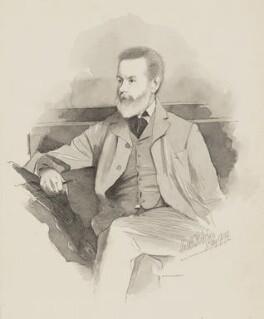 Charles Green, by (William) Walker Hodgson - NPG 7086