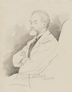Sir Edward John Poynter, 1st Bt, by (William) Walker Hodgson - NPG 7087