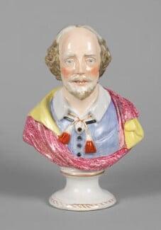 William Shakespeare, by Unknown artist - NPG D48655