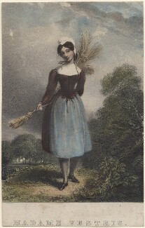 Madame Vestris, by Richard James Lane - NPG D48648