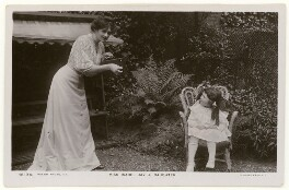 'Isabel Jay & Daughter' (Isabel Jay; Hon. Cecilia Claribel Anderson (née Cavendish)), by Foulsham & Banfield, published by  Rotary Photographic Co Ltd - NPG x201159