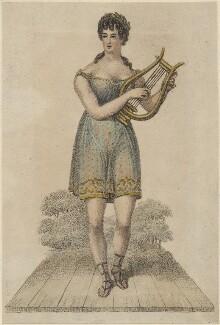 Madame Vestris as Apollo in 'Midas', after Unknown artist - NPG D48649