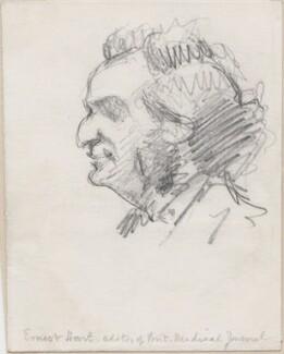 Ernest Abraham Hart, possibly by Alfred Elmore - NPG D48660