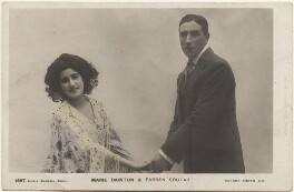 Marie Dainton and (Joseph) Farren Soutar in 'A Chinese Honeymoon', by Lizzie Caswall Smith, published by  Rotary Photographic Co Ltd - NPG x200533