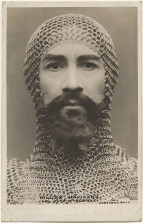 William Haviland as the Duke of Norfolk in 'Richard II', by Lizzie Caswall Smith - NPG x200538