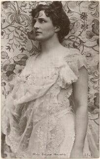 Evelyn Millard, by Lizzie Caswall Smith, published by  Delittle, Fenwick & Co - NPG x200553