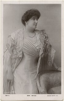 Nellie Melba, by Mabel Shadwell Clerke, published by  Rotary Photographic Co Ltd - NPG x200556