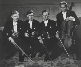 Allegri String Quartet (Patrick Ireland; James Barton; Eli Goren; William Pleeth), by Wolfgang Suschitzky - NPG x200725