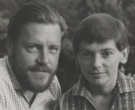 Gerald Durrell; Jacquie Durrell, by Wolfgang Suschitzky - NPG x200733