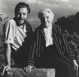 Gerald Durrell; Louisa Florence Durrell (née Dixie), by Wolfgang Suschitzky - NPG x200735