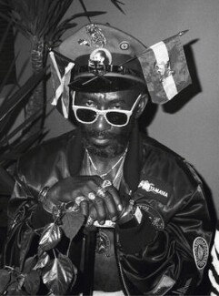 Lee Perry, by Pogus Caesar, 1987 - NPG  - © Pogus Caesar/ OOM Gallery Archive. All Rights Reserved. DACS/ Artimage