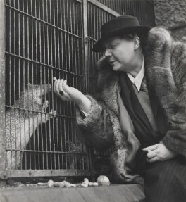 Dorothy Sayers and adopted porcupine, by Wolfgang Suschitzky - NPG x200760