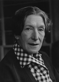 Elizabeth Bowen, by Raymond Cripps, for  Camera Press - NPG x194376