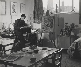 Ronald Searle, by Wolfgang Suschitzky - NPG x200762