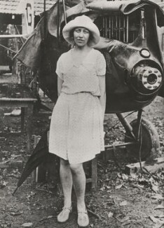 Amy Johnson, for Daily Mirror - NPG x194382