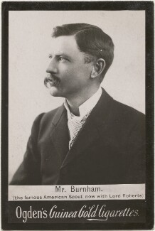 Frederick Russell Burnham, published by Ogden's - NPG x196247