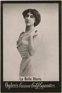 Caroline Otero (Agustina del Carmen Otero Iglesias), published by Ogden's, after  Reutlinger - NPG x196271