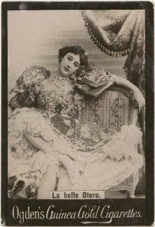 Caroline Otero (Agustina del Carmen Otero Iglesias), published by Ogden's, after  Reutlinger - NPG x196272