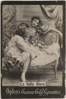 Caroline Otero (Agustina del Carmen Otero Iglesias), published by Ogden's, after  Reutlinger - NPG x196273