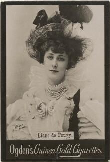 Liane de Pougy, published by Ogden's, after  Paul Nadar - NPG x196275