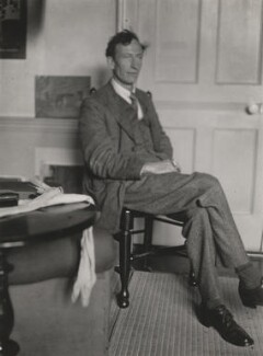Henry Lamb, by Lady Ottoline Morrell - NPG x141910