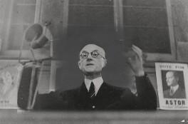 Samuel John Gurney Hoare, Viscount Templewood, by Lucien Aigner - NPG x194429