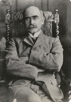 Rudyard Kipling, by Unknown photographer - NPG x194431