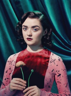Maisie Williams, by Miles Aldridge - NPG x200784