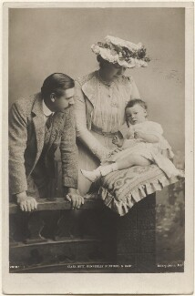 Dame Clara Ellen Butt; Robert Henry Kennerley Rumford; Joy Clara Cross (née Rumford), by Eleanor Holmes, published by  Rotary Photographic Co Ltd - NPG x200561