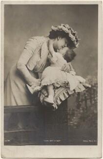 Dame Clara Ellen Butt; Joy Clara Cross (née Rumford), by Eleanor Holmes, published by  Rotary Photographic Co Ltd - NPG x200562