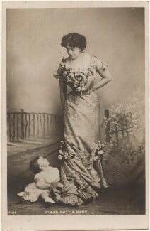 Dame Clara Ellen Butt; Joy Clara Cross (née Rumford), by Eleanor Holmes, published by  Rotary Photographic Co Ltd - NPG x200563
