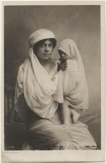 Dame Clara Ellen Butt; Joy Clara Cross (née Rumford), by Eleanor Holmes, published by  Rotary Photographic Co Ltd - NPG x200564