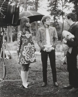 Jean Shrimpton and Paul Jones on set for 'Privilege', for PictureLux - NPG x200794