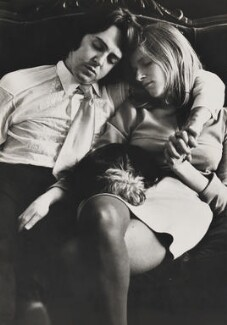 Paul McCartney; Linda McCartney, by John Kelly, for  Camera Press: London: UK - NPG x200795