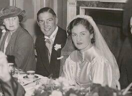 Jack Petersen; Betty Williams, by Unknown photographer - NPG x194444