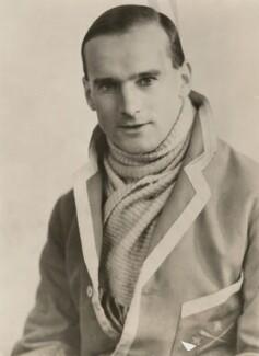 R.C. Sherriff, by Unknown photographer - NPG x194448