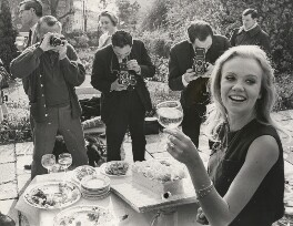 Hayley Mills celebrating her 21st birthday, for Keystone Press Agency Ltd - NPG x194469