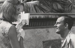 Vanessa Redgrave being directed by Tony Richardson in 'Sailor From Gibraltar', by Unknown photographer - NPG x194470