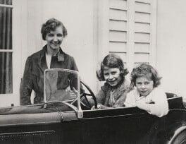 Marion Crawford; Queen Elizabeth II; Princess Margaret, by Queen Elizabeth, the Queen Mother - NPG x194475
