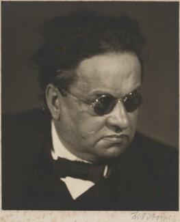 Ludwig Aub, by Li Osborne - NPG x194480