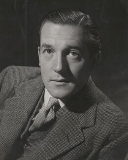 Sir Hardy Amies, by Douglas Glass - NPG x194483