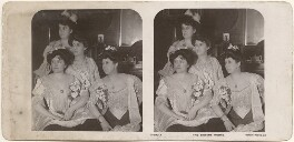 'The Sisters Moore' (Eva Moore; Bertha Moore; (Lilian) Decima Moore; Jessie Moore), published by Rotary Photographic Co Ltd - NPG x196293