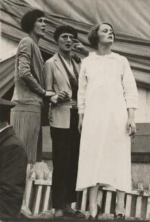 Edna Best; Heather Thatcher, by Dudley Glanfield - NPG x198277