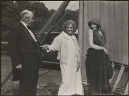 Cathleen Mary Nesbitt; Nora Swinburne; Frederick Volpé, by Dudley Glanfield - NPG x198282