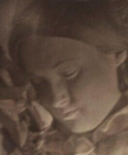 Unknown woman, by (Charles) John Hope-Johnstone - NPG P134(24)