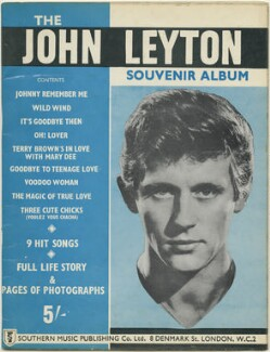 The John Leyton Souvenir Album, published by Southern Music Publishing Company, after  Unknown photographers - NPG D48468