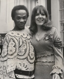 Danny Williams and Jean Lingard on their wedding day, by Unknown photographer - NPG x198326