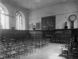 Interior of Clifford's Inn Hall, London, by Sir Emery Walker - NPG x182292